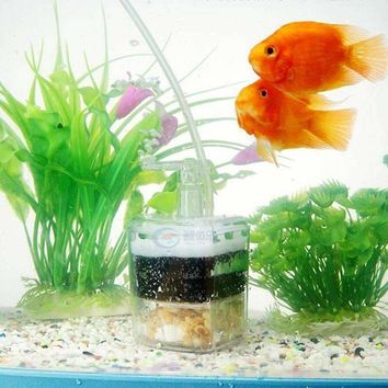 Charcoal Filter Aquarium Cleaner