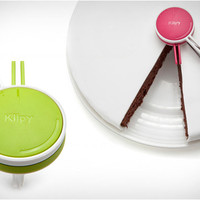 Klipy Cake Divider Slicer Easily Divide Pie Into Equal Pieces Slices (Pink)