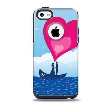 The Love-Sail Heart Trip Skin for the iPhone 5c OtterBox Commuter Case