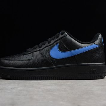 vlone x nike air force 1 07 lv8 low black blue
