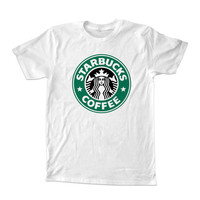 starbucks coffee  For T-Shirt Unisex Adults size S-2XL