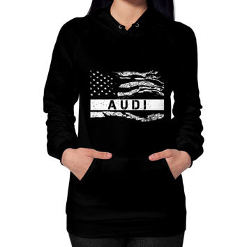 FLAG AUDI Hoodie (on woman)