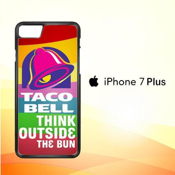 taco bell logo Z3337 iPhone 7 Plus Case