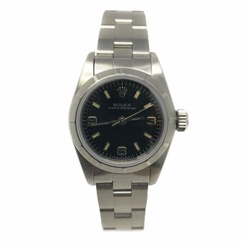Rolex Oyster Perpetual swiss-automatic womens Watch 67230 (Certified Pre-owned)