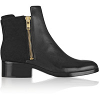 3.1 Phillip Lim - Alexa leather and nubuck ankle boots
