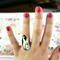 Penguin Ring - Bows Jewellery