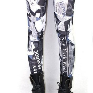 Marilyn Monroe Leggings from Jmari Designs