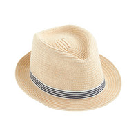 crewcuts Boys Striped Band Trilby Hat