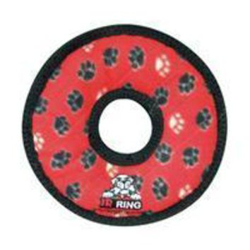 MDIGG2Q VIP Products Tuff Jr. Gear Ring Red Paws