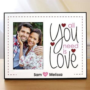 LOVE is all you need picture frame