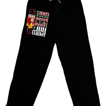 More Nuts Busted - My Mouth Adult Lounge Pants by