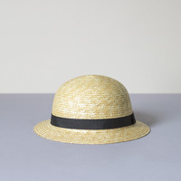 Children's Straw Boater