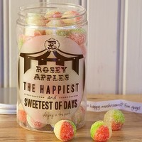 Retro Sweets Jar Rosey Apples