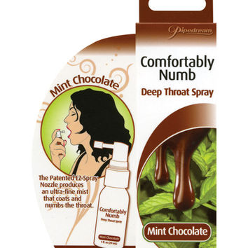 Comfortably Numb Deep Throat Spray - Mint Chocolate