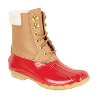 Sperry® Shearwater Boots - Red