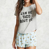 Can We Taco Bout Us PJ Set