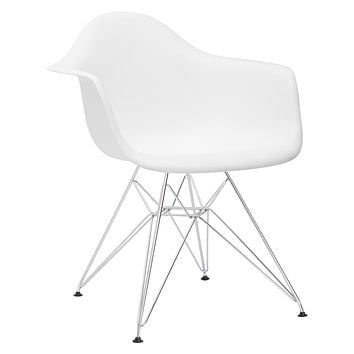 Padget Arm Chair in White