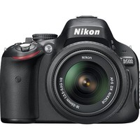 Nikon - D5100 16.2-Megapixel DSLR Camera with 18-55mm Lens - Black