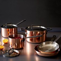 Tri-Ply Copper Cookware 8- Piece Set