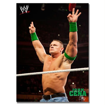 Offically Licensed WWE John Cena Canvas