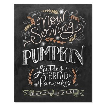 Now Serving: Pumpkin - Print & Canvas
