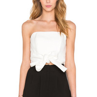C/MEO Making Waves Bustier in Ivory