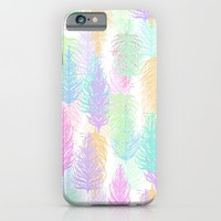 Feathered Spring - White iPhone & iPod Case by Lisa Argyropoulos | Society6