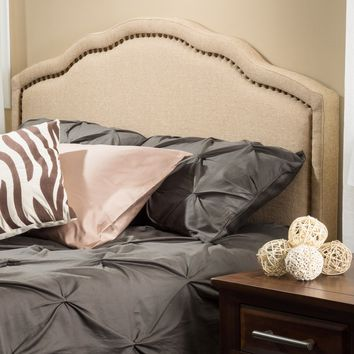 Christopher Knight Home Bellagio Adjustable Full/ Queen Fabric Headboard | Overstock.com Shopping - The Best Deals on Headboards