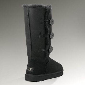 UGG: three button snow boots-1