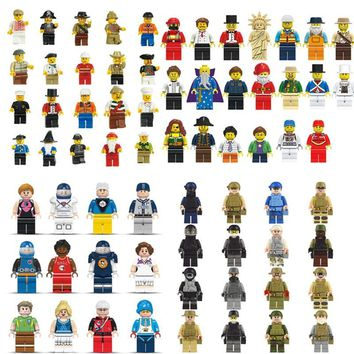 Statue City Character Action Naruto Figure Building Blocks Sets Bricks Classic Model Kids DIY Toys Gift Marvel Compatible Legoe