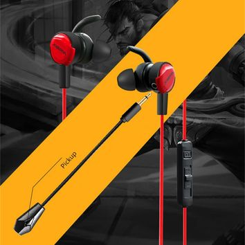 Xiberia MG-1 In-ear Gaming Headphonnes Earphones for Computer PS4 Xbox one Phone PC Gamer Casque Deep Bass Game Headset with Mic