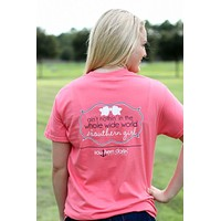 Southern Darlin Nothing in the Whole World like a Southern Girl Bow Bright Girlie T-Shirt