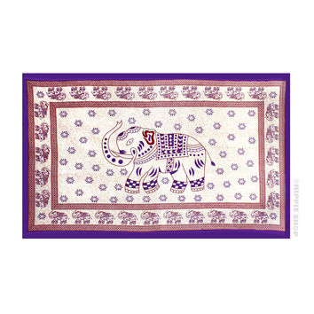Indian Elephant Tapestry on Sale for $26.95 at HippieShop.com