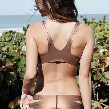 2015 Indah Swimwear Leo Bottom in Bronze