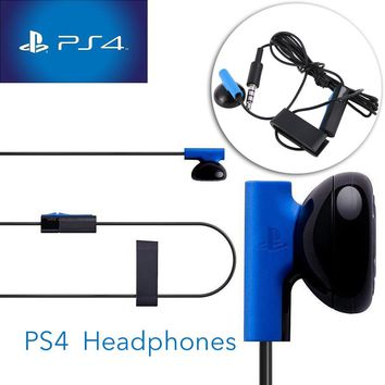 3.5mm Headphones Earphone For PS4 Playstation 4 Gaming Headset Control with MIC