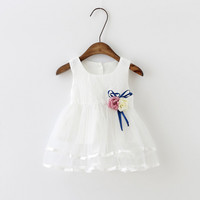 heat! Summer Baby Girl Dress 2016 New Princess Dress Baby Girls Party for Toddler Girl Dresses Clothing tutu Kids Brands Clothes