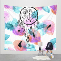 Dream Chaser Wall Tapestry by Crystal Walen