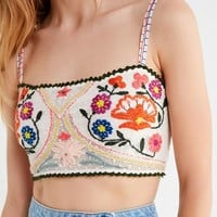 Out From Under Bonita Embroidered Bra Top | Urban Outfitters