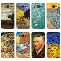 Hot Sale van gogh Clear Case Cover Coque Shell for Samsung Galaxy J1 J2 J3 J5 J7 2016 2017 Emerge