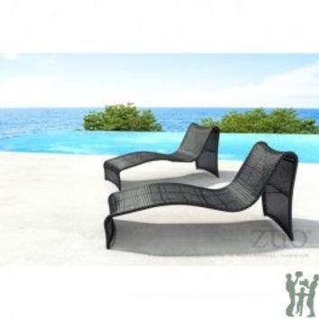 ROCKY BEACH CHAISE LOUNGE ESPRESSO
