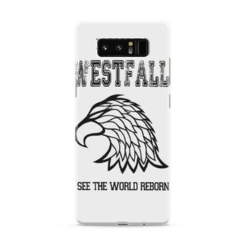 HOUSE WESTFALL THE THRONE OF GLASS Samsung Galaxy Note 8 Case