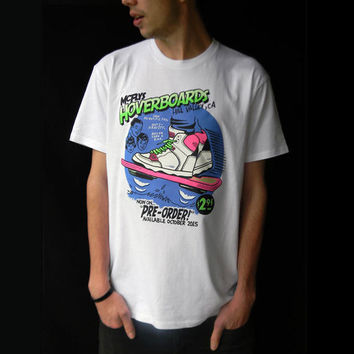 Back to the Future t-shirt- Hoverboards, Mens / Unisex Streetwear