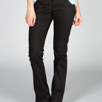 Dickies Reva Womens Pants Black  In Sizes