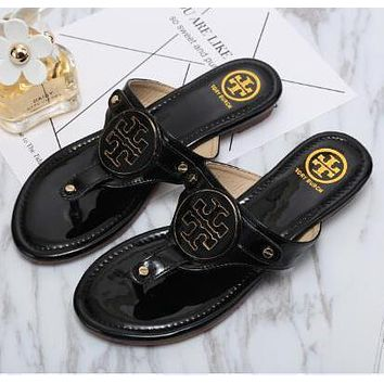 Tory Burch Women Casual Fashion Sandal Slipper Shoes1