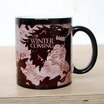 "Game of Thrones ""Winter is Coming"" Color Changing Mug"