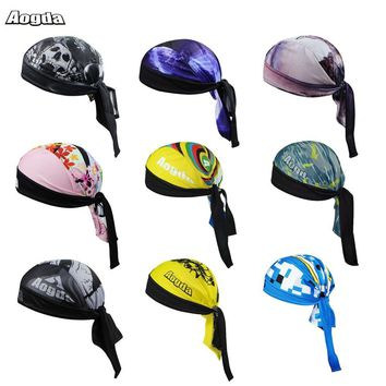 New Quick-Dry Breathable Women Mens Bike Bicycle Hat Headscarf Cycling Scarf Bandana Hood MTB Headband Skull Pirate Head Scarf