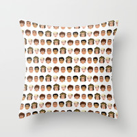 One Direction Throw Pillow by Pygmy
