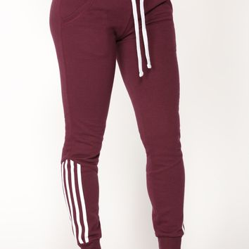 Lover Lounge Jogger - Plum
