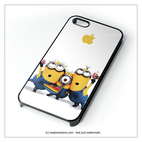 Minions Despicable Me 2 Movie iPhone 4 4S 5 5S 5C 6 6 Plus , iPod 4 5 , Samsung Galaxy S3 S4 S5 Note 3 Note 4 , HTC One X M7 M8 Case