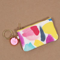 ban.do Zip Zip Keychain Pouch - Brushstrokes